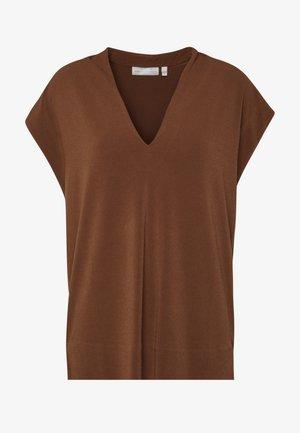 YAMINI - Print T-shirt - cinnamon