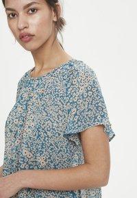 InWear - TALLYIW  - T-shirt z nadrukiem - petrol blue - 4