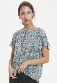 InWear - TALLYIW  - T-shirt z nadrukiem - petrol blue - 1