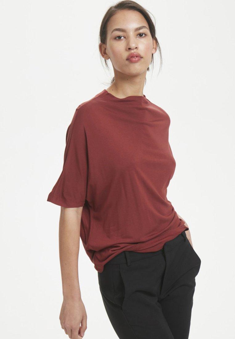 InWear - T-shirt basic - Brown