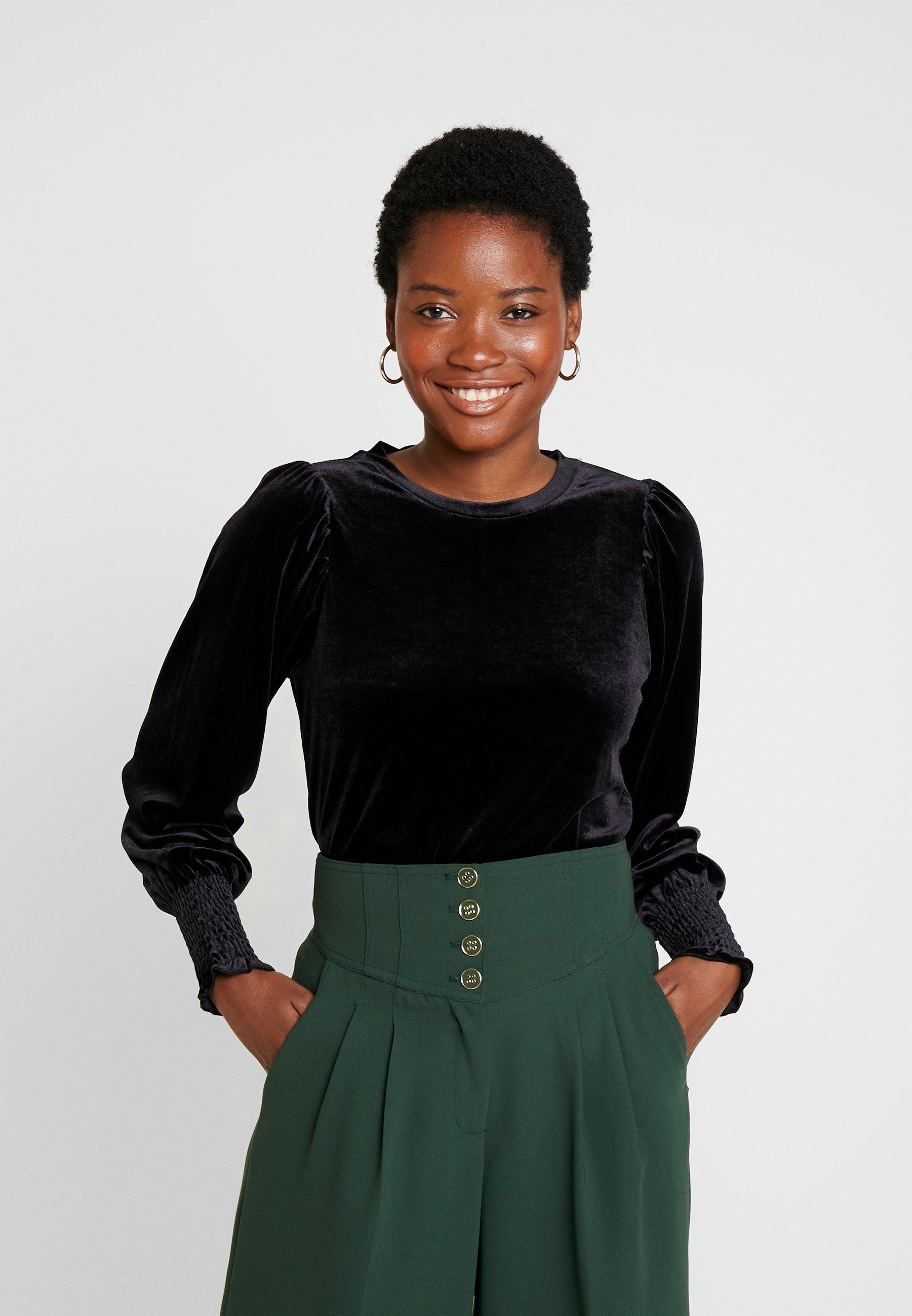 Lunga A OrielMaglietta Manica Inwear Black N80wmn