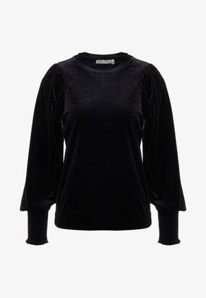 ORIEL - Top sdlouhým rukávem - black