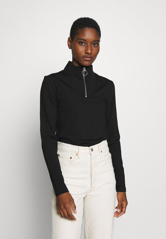 ANNABEL - Long sleeved top - black