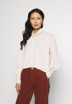 ALANOIW BLOUSE - Long sleeved top - french nougat