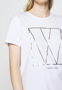 InWear - SERA - Print T-shirt - white - 5