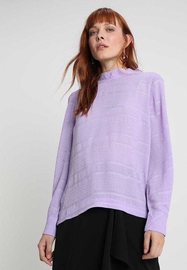 NOELLE BLOUSE - Pusero - purple rose