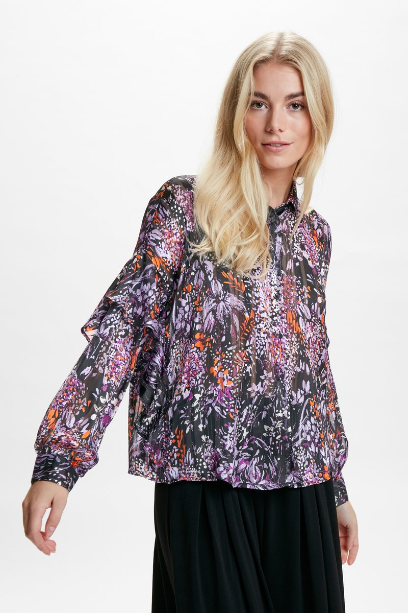 InWear - HILMA - Skjorta - purple flowers