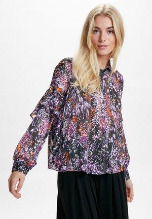 HILMA - Overhemdblouse - purple flowers