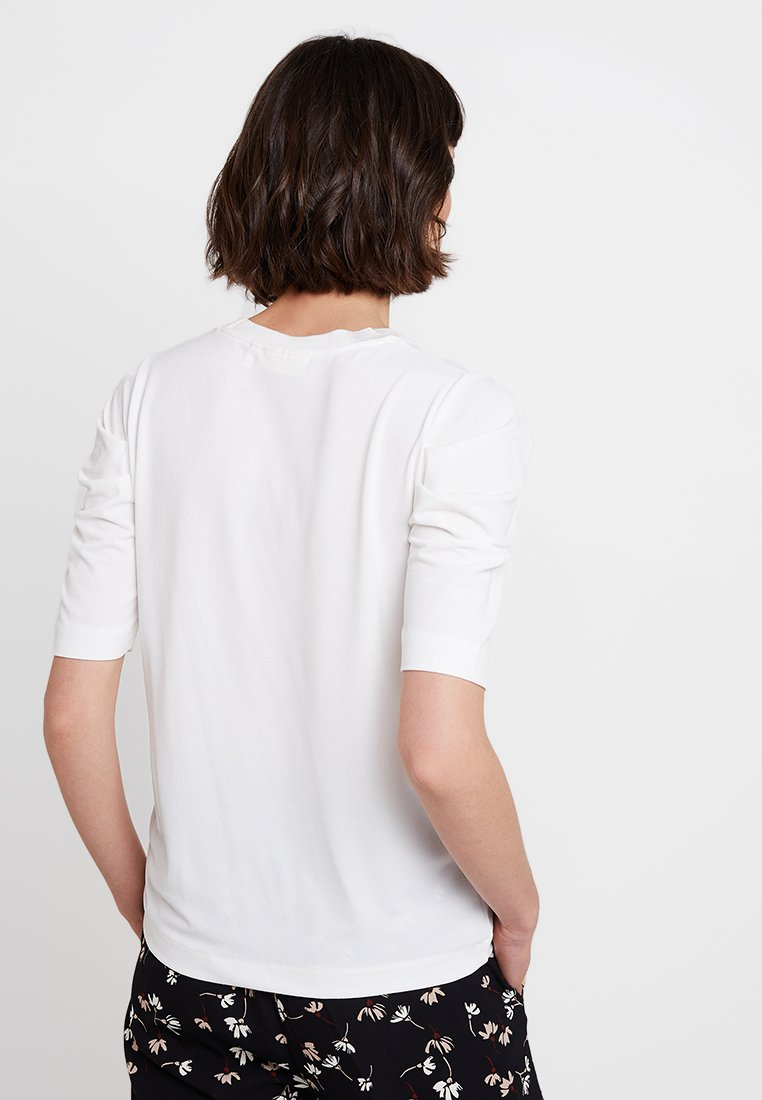Inwear Perla Pleat Sleeve - T-shirt Print White Smoke qHrxOl42