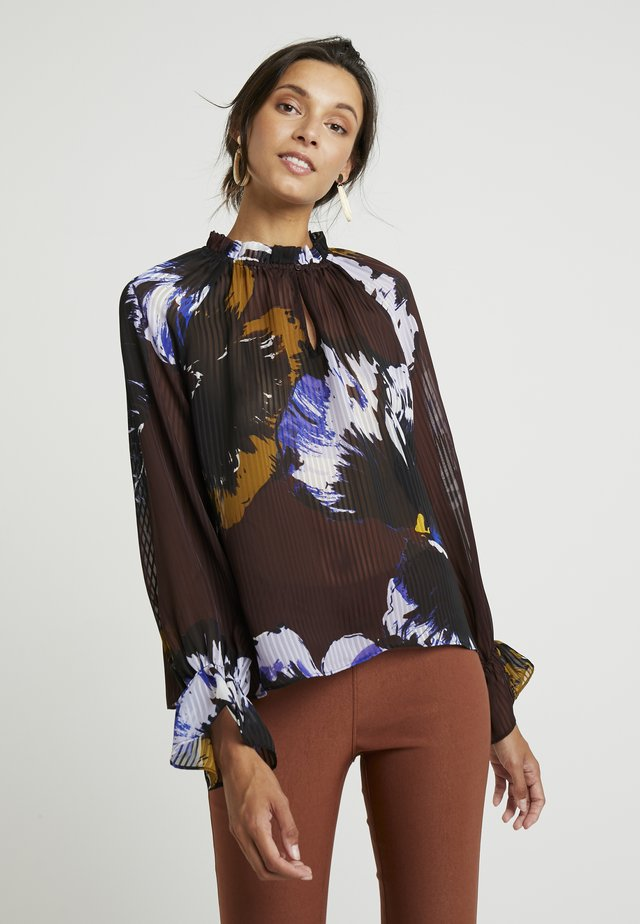KALISTAIW BLOUSE - Blus - bitter chocolate