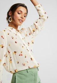 InWear - KATHYIW BLOUSE - Button-down blouse - french nougat - 3
