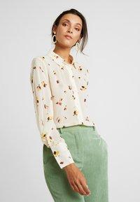 InWear - KATHYIW BLOUSE - Button-down blouse - french nougat - 0
