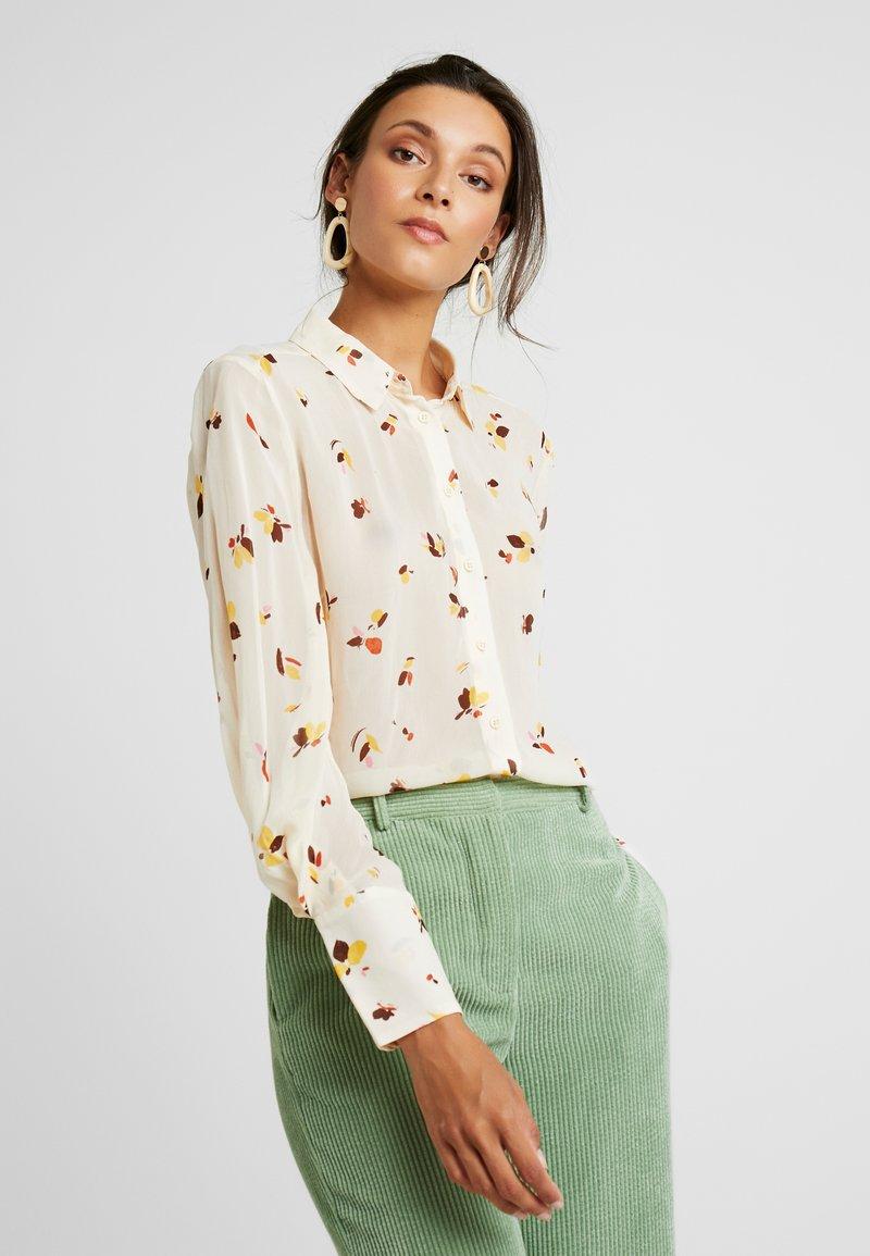 InWear - KATHYIW BLOUSE - Button-down blouse - french nougat