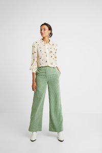 InWear - KATHYIW BLOUSE - Button-down blouse - french nougat - 1