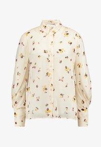 InWear - KATHYIW BLOUSE - Button-down blouse - french nougat - 5