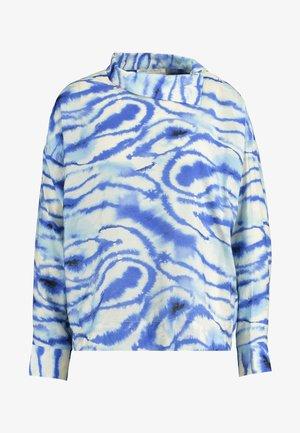 LIXI BLOUSE - Bluse - blue shibori