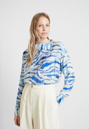 LIXI BLOUSE - Blouse - blue shibori