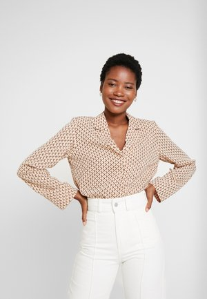 CAMILLE - Button-down blouse - nude