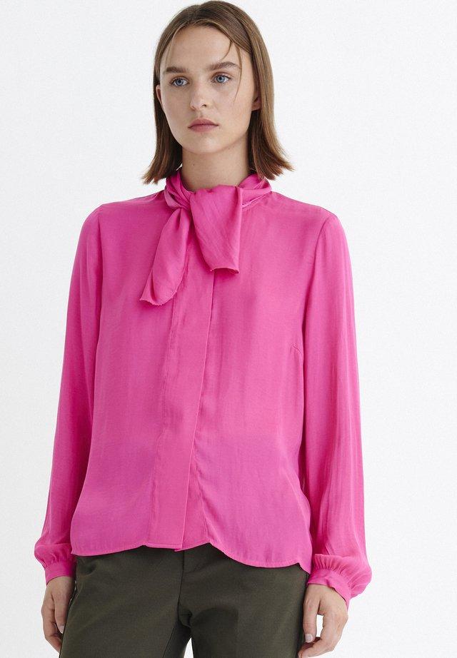 CLARAIW - Bluzka - pink petunia