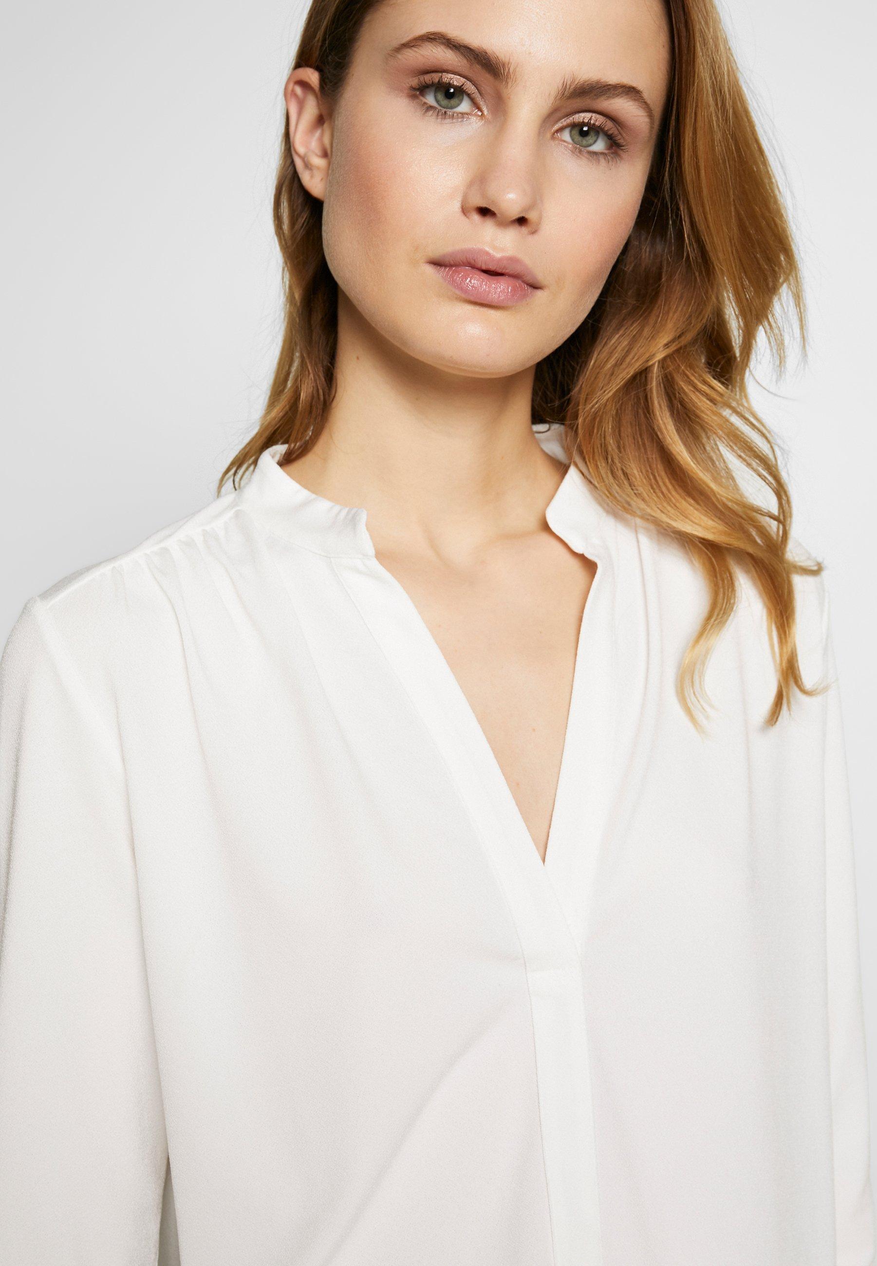 Inwear Alanaiw Blouse - Long Sleeved Top White Smoke UK