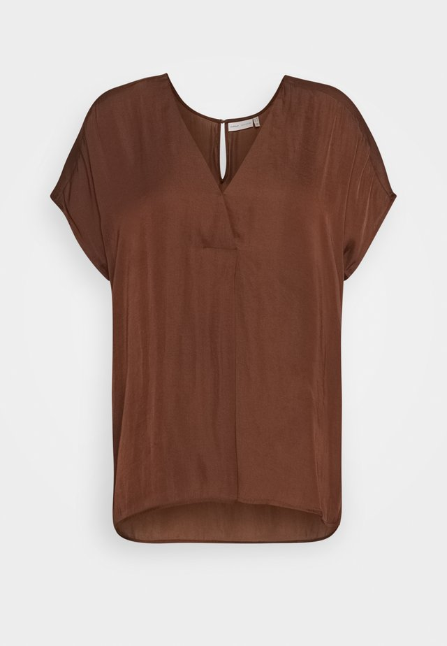 RINDAIW - Bluse - coffee brown