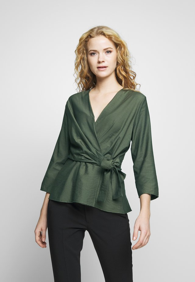 ROXIIW BLOUSE - Blouse - beetle green