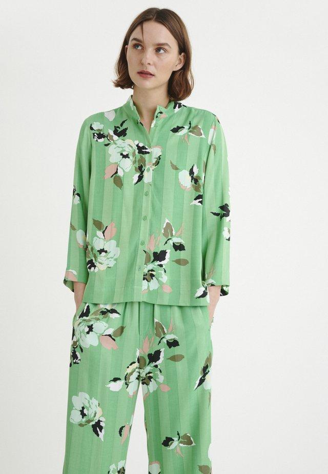 RHEAIW - Button-down blouse - green