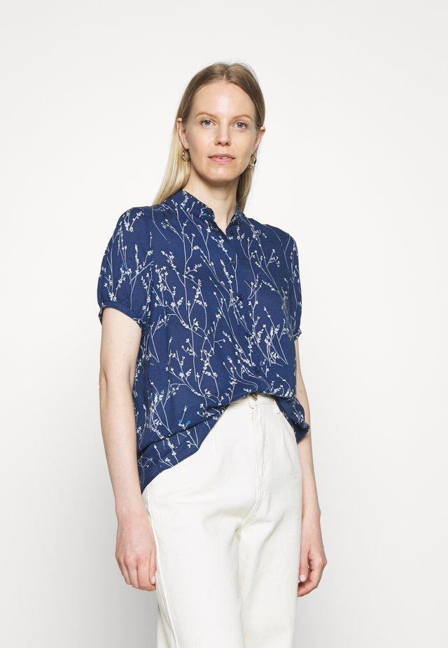 FIAIW - Button-down blouse - ink blue