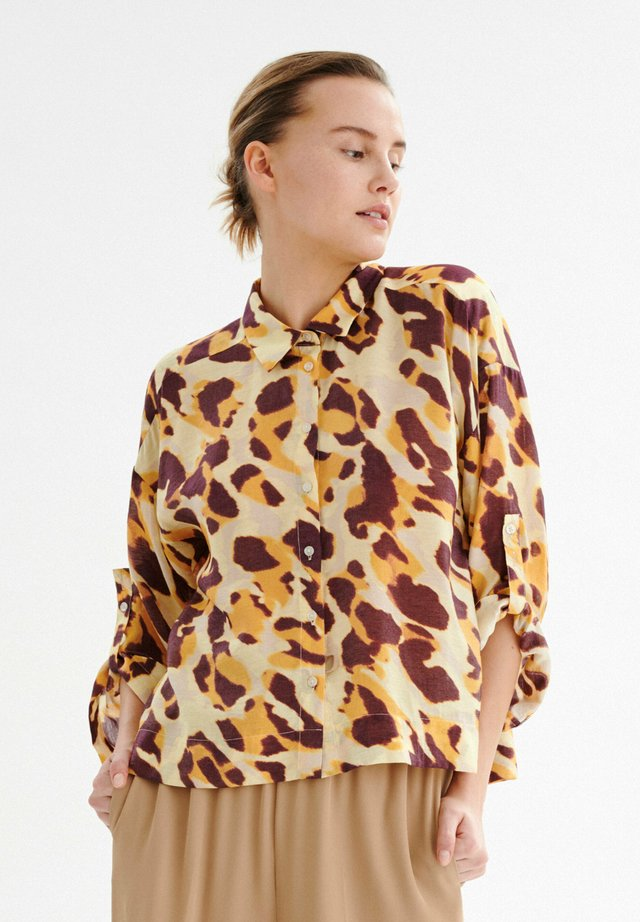 DELICIA - Button-down blouse - yellow