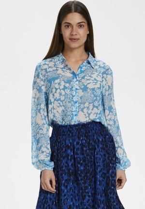 FLORIZZAIW  - Camicia - light blue poetic flower