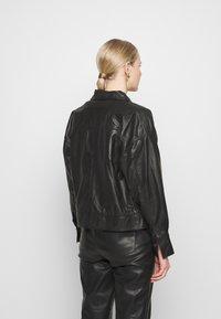 InWear - EMONE JACKET - Leren jas - black - 2