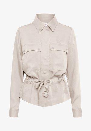 QUIIW JACKET - Denim jacket - powder beige