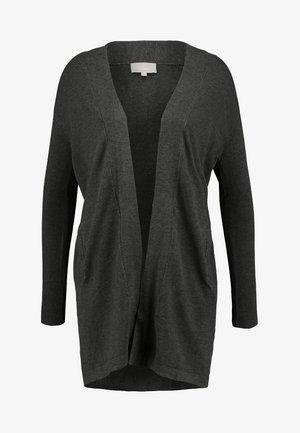 RENEE - Cardigan - dark grey melange