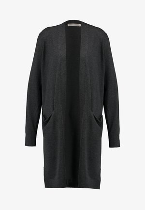 ZENEEI CARDIGAN - Cardigan - dark grey melange