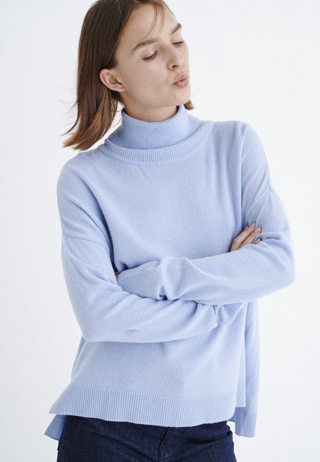 Strickpullover - blue serenity