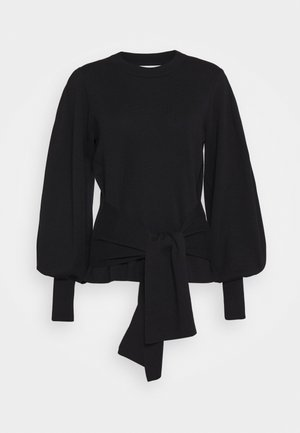SAMMY TIE - Jumper - black