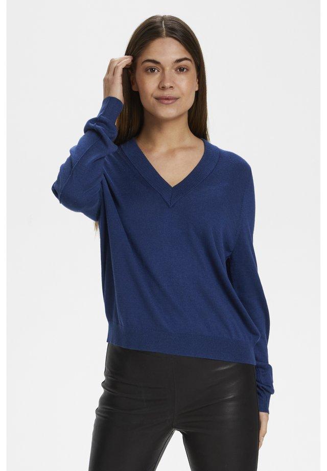 Jersey de punto - ink blue