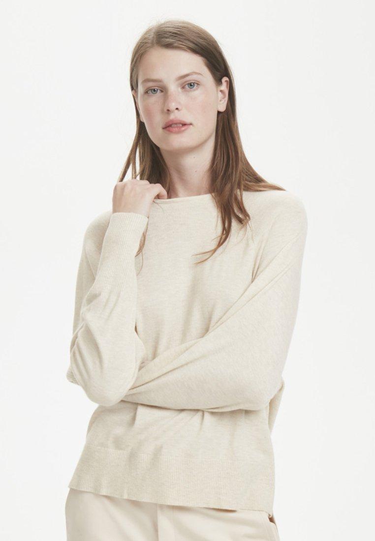 Inwear O Petriiw neckSweatshirt French Nougat K1lFTJc