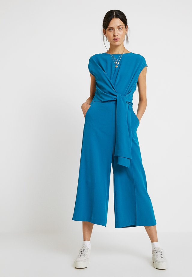 ZHEN - Jumpsuit - petrol blue