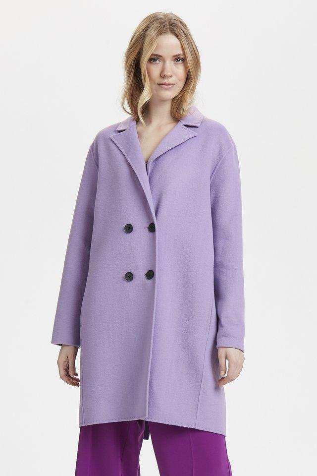 USHAN - Cappotto classico - purple rose