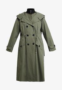 InWear - GRETE COAT 2-IN-1 - Trenchcoat - beetle green - 6