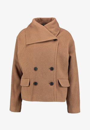 ZELIEIW SHORT COAT - Summer jacket - caramel