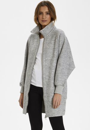 URSA ZIP COAT - Mantel -  light grey melange