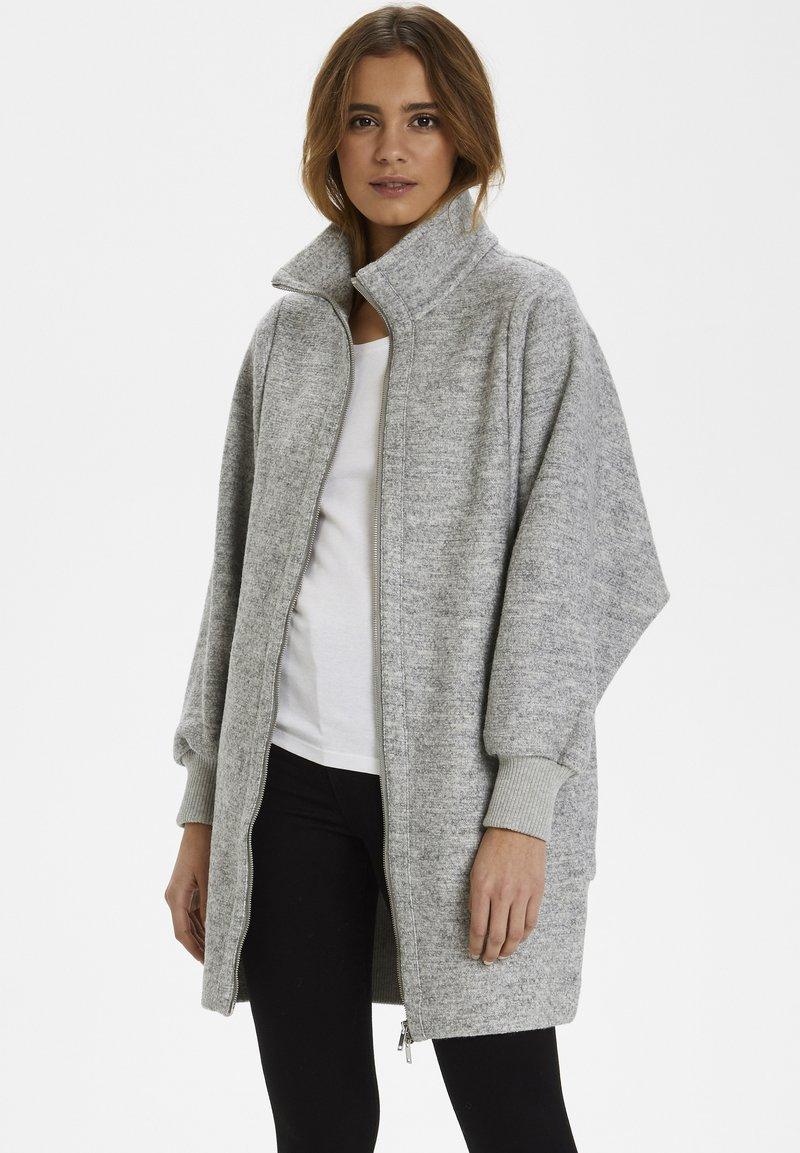 InWear - URSA ZIP COAT - Frakker / klassisk frakker -  light grey melange