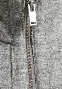 InWear - URSA ZIP COAT - Frakker / klassisk frakker -  light grey melange - 5