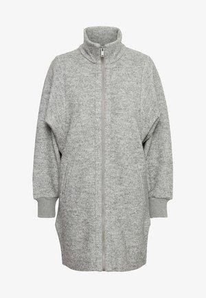 URSA ZIP COAT - Classic coat -  light grey melange