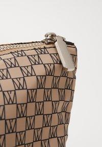 InWear - TRAVEL TOILETRY POUCH - Wash bag - beige/black - 3