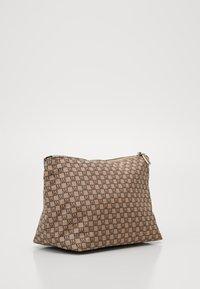 InWear - TRAVEL TOILETRY POUCH - Wash bag - beige/black - 1