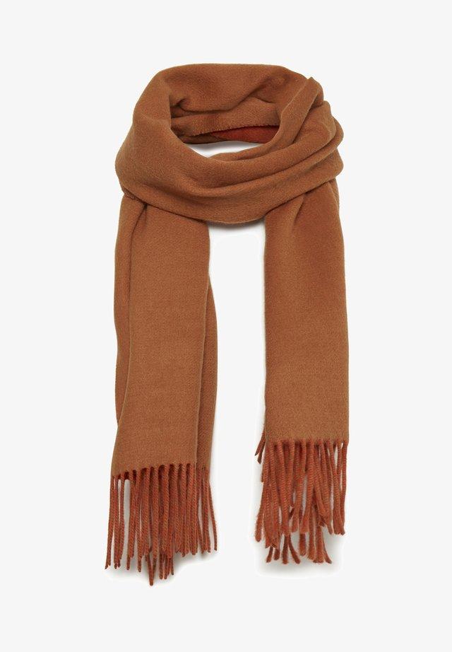 MYRTHEIW - Sjaal - leather brown / deep orange