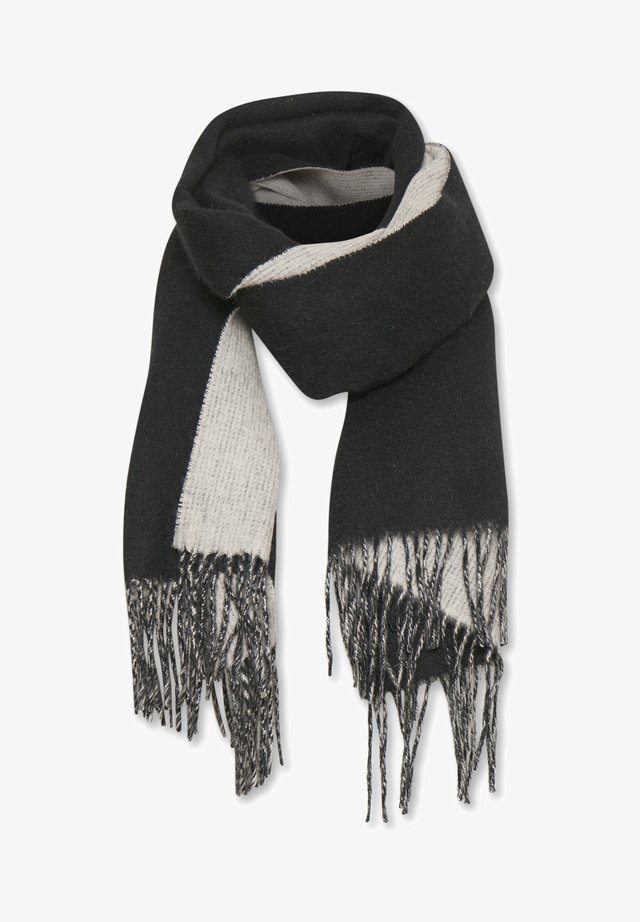 MYRTHEIW - Sjaal - black / powder beige
